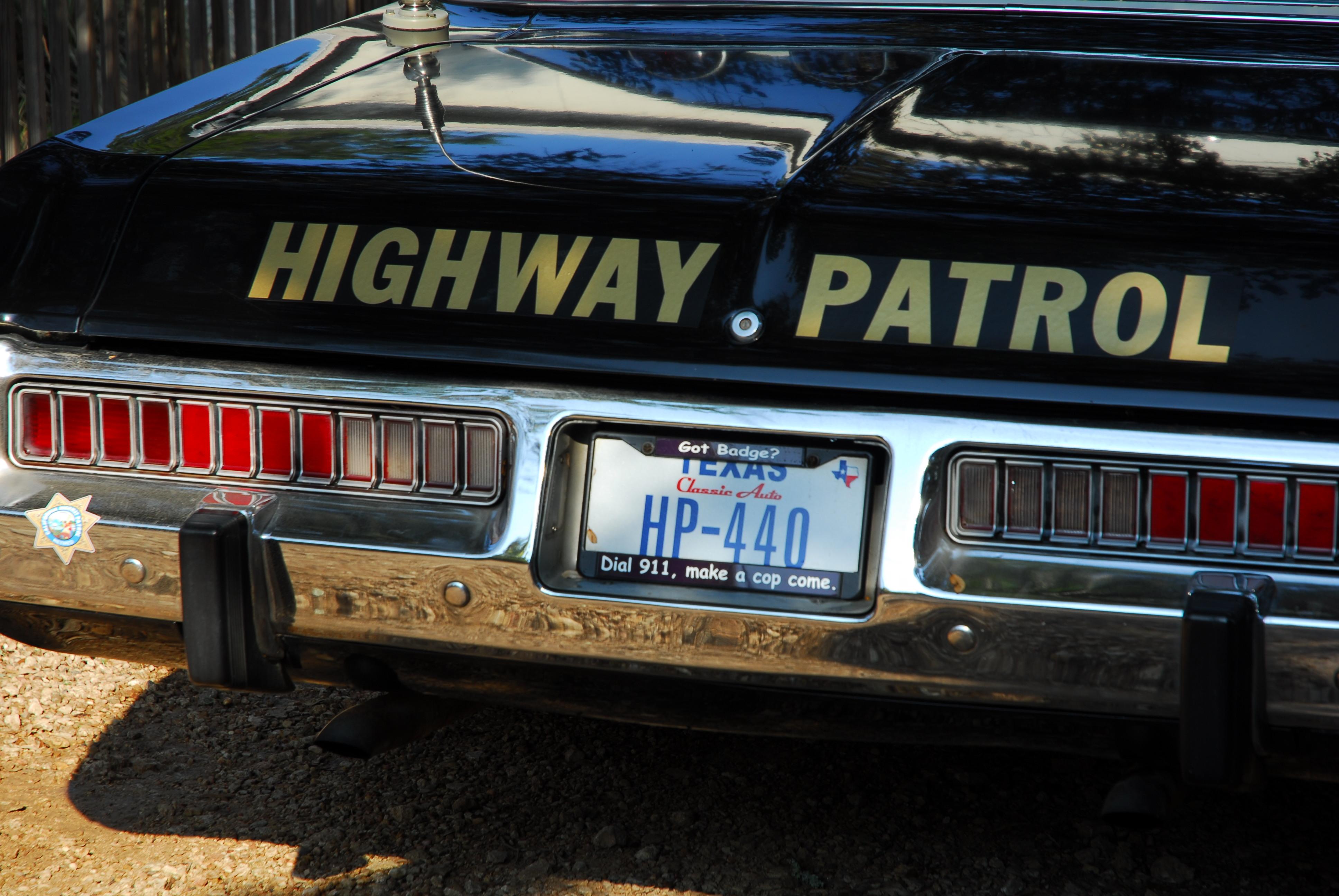 ponch   david kumhyr s 1973 dodge polara california highway patrol car