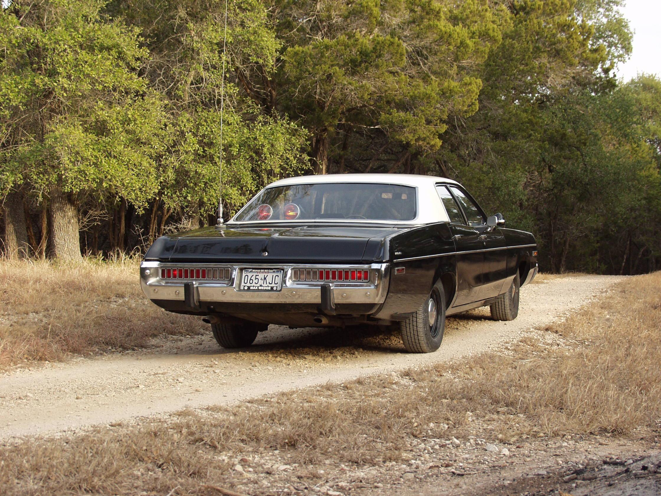 Ponch - David Kumhyr's 1973 Dodge Polara California Highway